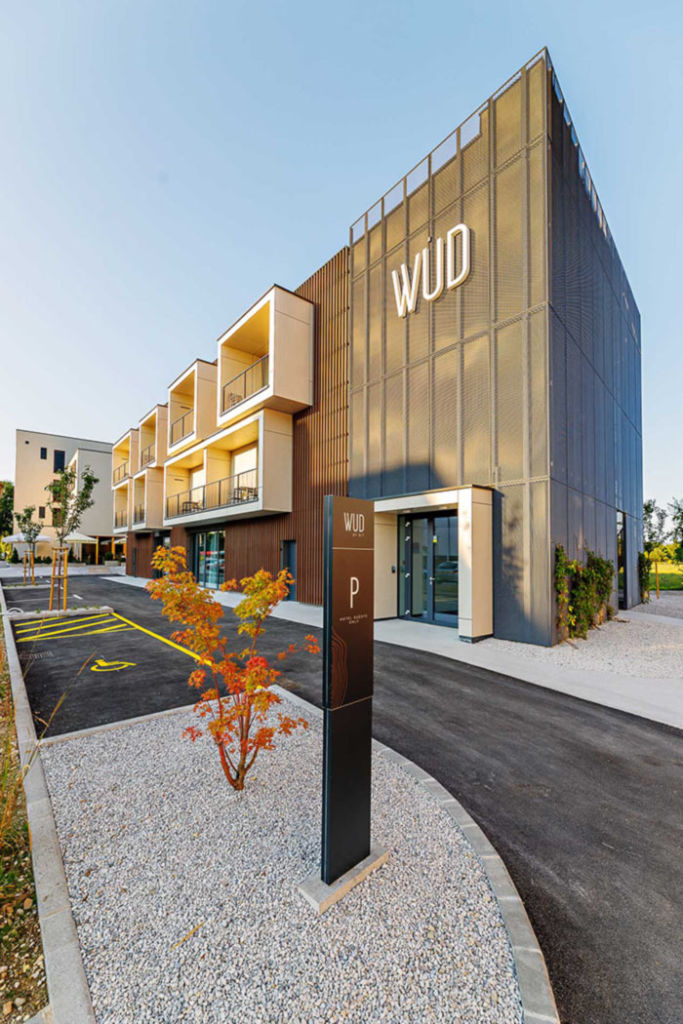 Hotel WUD und personal