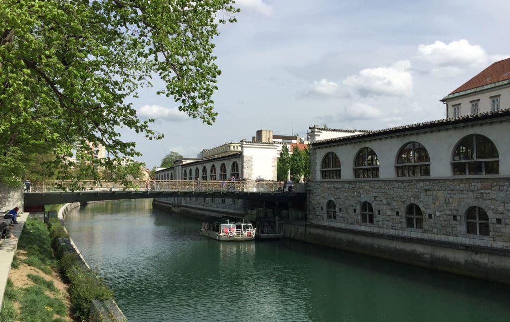 the green Ljubljana
